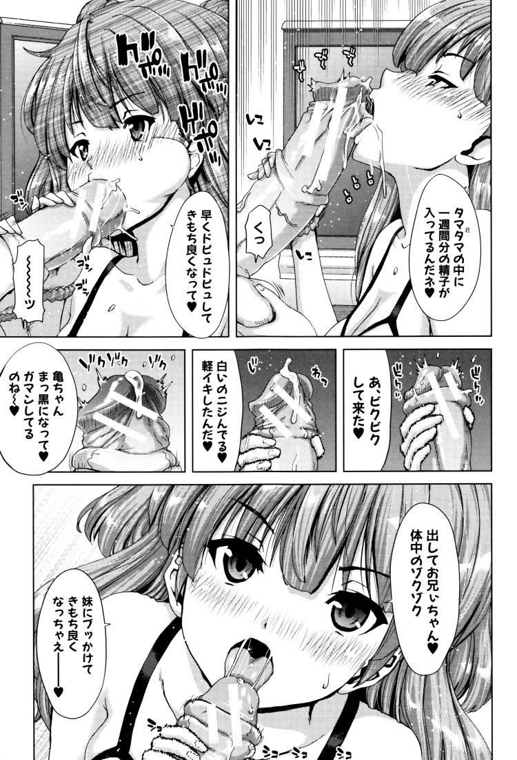 【JKエロ漫画】ビッチすぎる妹と近親相姦!まんこだけじゃ足りなくてアナルも開発してしまうw